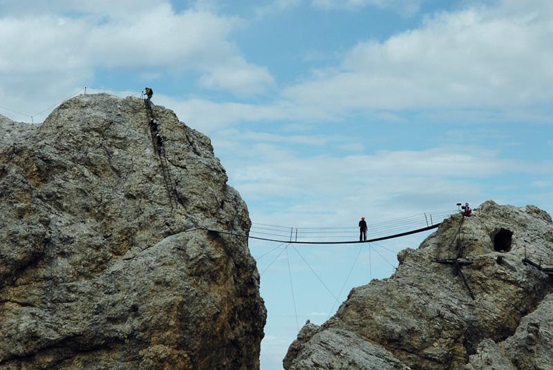 Klettersteig Drei Zinnen : Sextner dolomiten u klettersteig tour geführt wandern in den alpen